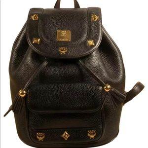 Handbags - MCM lambskin backpack